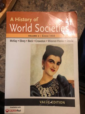 A History World of Societies for Sale in La Mesa, CA
