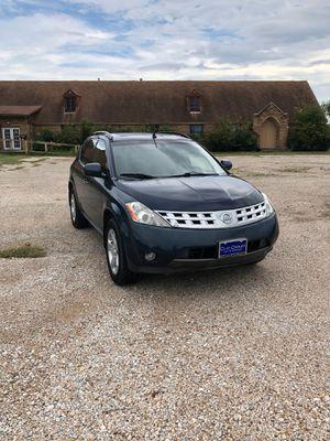 Vendo Nissan Murano 2003 título limpio corre bien 150,000 millas asientos de piel for Sale in Dallas, TX