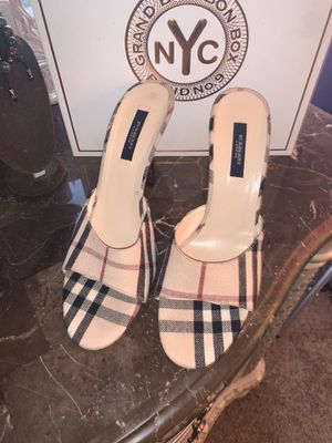 Burberry slip on heels for Sale in Lima, OH