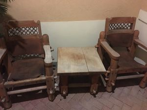Outdoor Hard wood furniture from colombia for Sale in Hialeah, FL