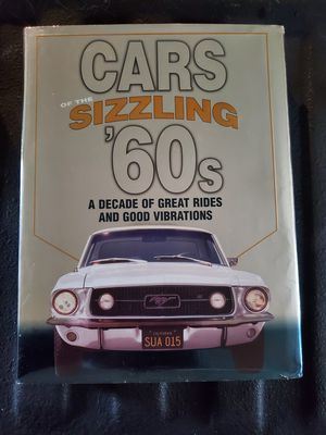 Sizzling 60s car book for Sale in Fennville, MI
