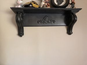 Two black wall shelves for Sale in Riverside, CA