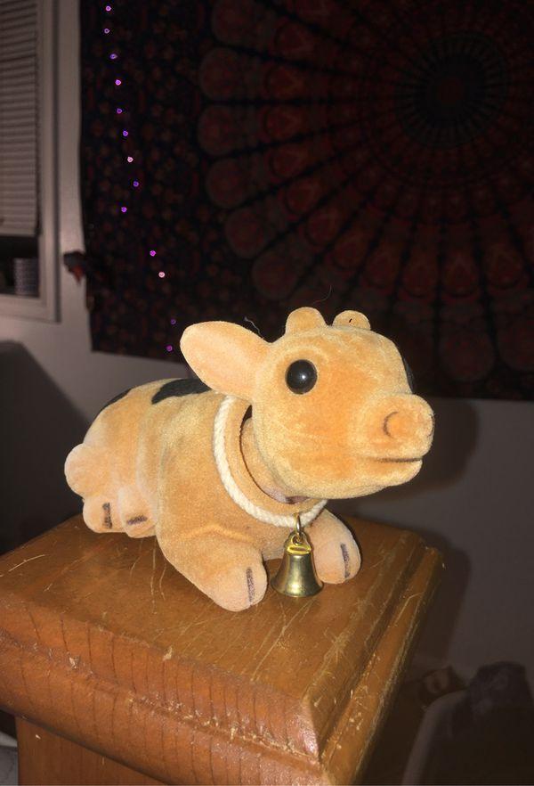 Kawaii Cow bobble head!