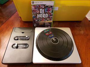 XBOX 360 DJ HERO for Sale in Lakeland, FL