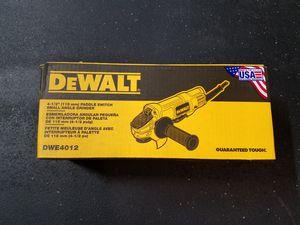 "DWE 40124 - 1/2"" (115 MM) Grinder for Sale in Oklahoma City, OK"