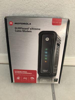 Motorola SURFboard eXtreme Cable Modem DOCSIS 3.0 SB6121 for Sale in Glendale, AZ