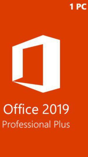 Microsoft Office Pro 2019/2020 Copy for Sale in Fontana, CA