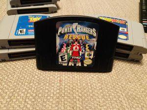 N64 Power Ranger Rescue for Sale in Elizabethton, TN
