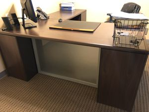 Office desk and bookshelf for a great price! for Sale in Delray Beach, FL