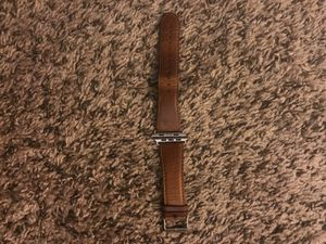 Apple Watch 42mm band. Leather brown. for Sale in Durham, NC