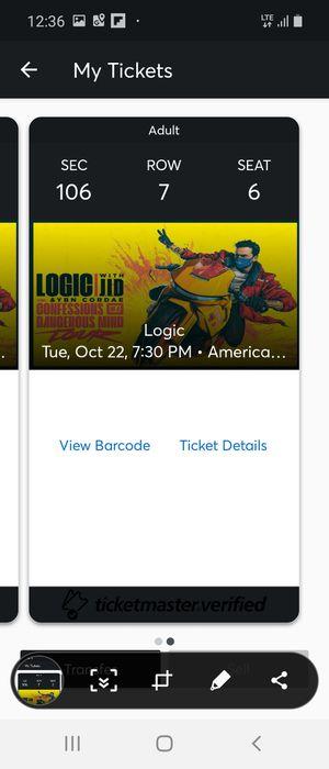 Tickets for logic Miami for Sale in Miami, FL