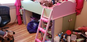 Loft bed and matching dresser for Sale in Hebron, IL