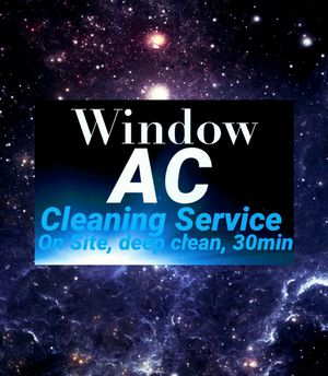 AC window unit cleaning for Sale in Dallas, TX