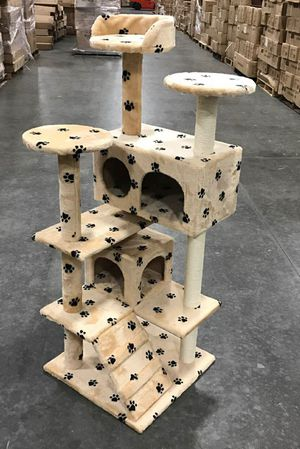 New in box 52 inches tall cat tree scratching post scratcher for Sale in Whittier, CA