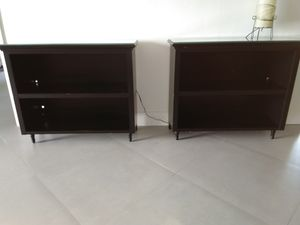 Two Bookshelves for Sale in Miami Beach, FL
