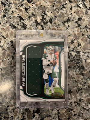 2019 Panini certified Sam Darnold patch 235/299 for Sale in Austin, TX