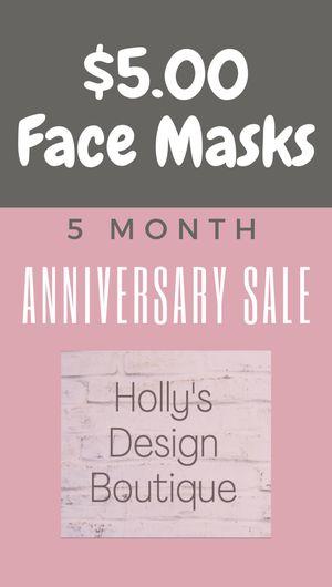 $5.00 Face Mask Sale for Sale in Virginia Beach, VA