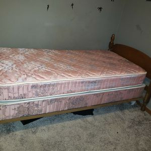 Twin Size Bed And Frame for Sale in Clarksville, PA
