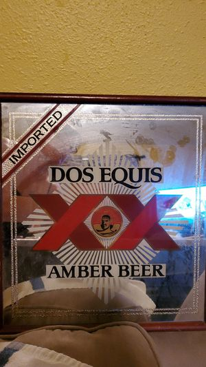 Dos Equis Beer Sign for Sale in SeaTac, WA