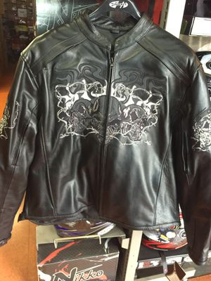 New motorcycle leather jacket $150 for Sale in Santa Fe Springs, CA