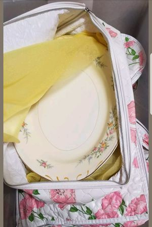 Yellow antique China set for Sale in Seattle, WA