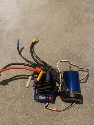 Traxxas Slash Stuff ESC motor Tires and rims transmitter and receiver for Sale in Chula Vista, CA