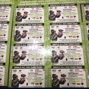 Paintball Shooting Tickets for Sale in Lynwood, CA