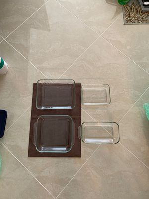 4 piece Pyrex for Sale in North Miami Beach, FL