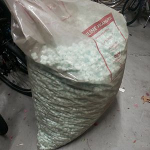 Bag Of New Uline Shipping Packing Packaging Styrofoam Peanuts for Sale in Long Beach, CA