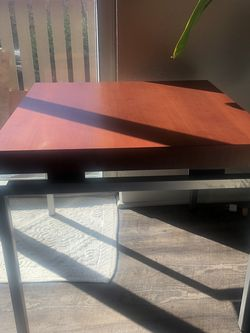 BEDSIDE TABLE , Metal And Wood. Great Quality for Sale in Kirkland,  WA