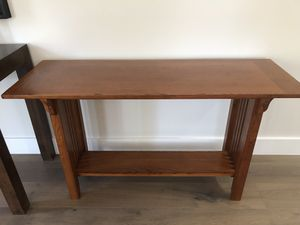 Wooden console table for Sale in San Diego, CA