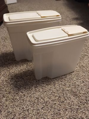 Rubbermaid cereal storage containers for Sale in Winchester, VA