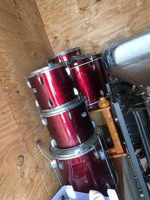 Candy Red Drum Set for Sale in Greenville, NC