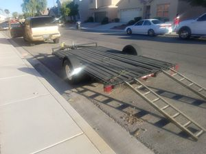 8× 12 flatbed utility trailer for Sale in North Las Vegas, NV