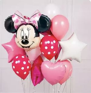 Pink Minnie Mouse bouquet 12 pcs for Sale in South Gate, CA