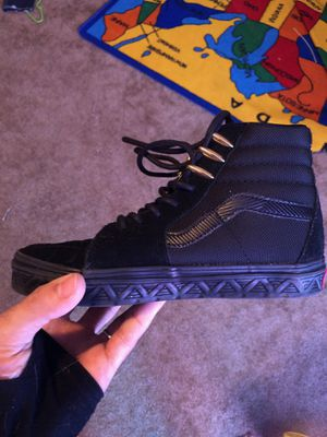 Black panther vans for Sale in Dallas, TX