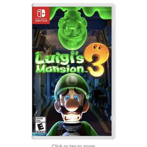 Luigi's Mansion 3 - Nintendo Switch video game for Sale in Madison, WI