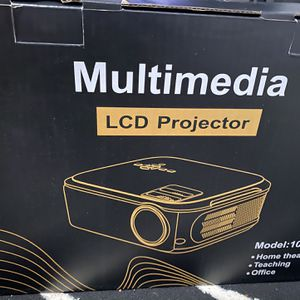 Multimedia Full Hd Projector New With Warranty for Sale in Aurora, IL