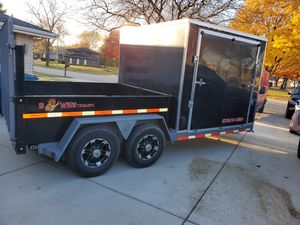 Bwise ultimate combo dump trailer for Sale in Glendale Heights, IL