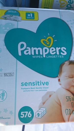 Pamper wipes Sensitive for Sale in Union City, CA