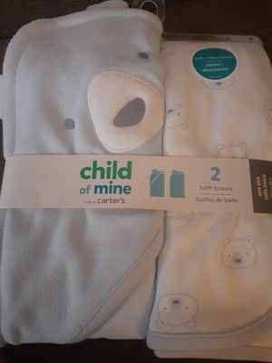 Carter's brand new (unopened) bath towels for Sale in Chesapeake, VA