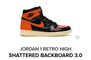 Jordan 1 Retro High SBB 3.0 size 6.5 $200 for Sale in The Bronx, NY