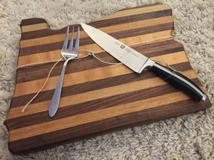 Large handmade Oregon cutting board, maple and walnut for Sale in Tigard, OR