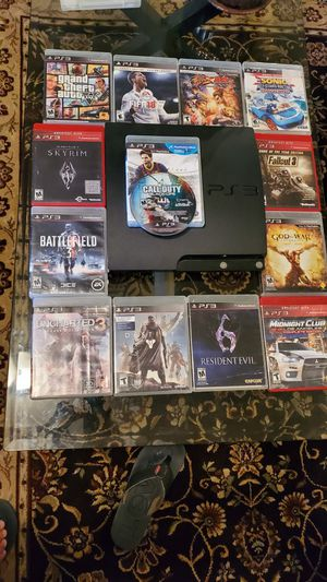 Ps3 slim 500gb for Sale in Rockville, MD