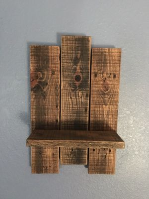 Wood Wall Shelf $15- for Sale in Stockton, CA