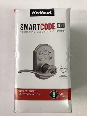 Kwikset Smartcode 911 Tustin Dior Lever featuring Smartkey for Sale in Stanton, CA