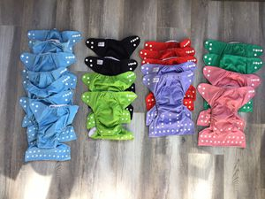 Reusable cloth diapers for Sale in San Marcos, CA