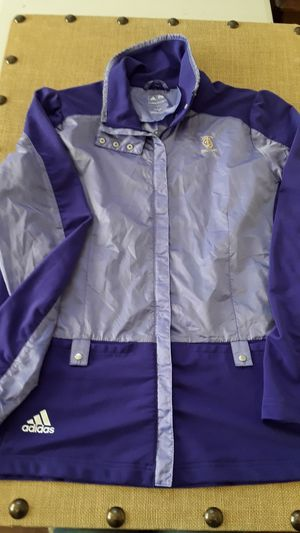 $15 Adidas Large Sweater in Purple and Lavender for Sale in Hemet, CA