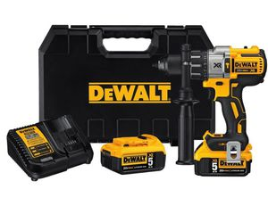 DEWALT 20-Volt MAX XR Lithium-Ion Cordless Premium Brushless Hammer Drill with (2) Batteries 5Ah, Charger and Case Regular price $319.00 for Sale in Chantilly, VA