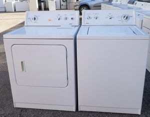 WHITE KENMORE WASHER AND DRYER SET for Sale in Plant City, FL